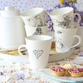 Victoria & Abigail Large Illustrated Mugs
