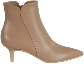 Gianvito Rossi Side-zipped Ankle Boots