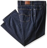 Lee Men's Big and Tall and Modern Series Athletic Fit Straight Leg Jean