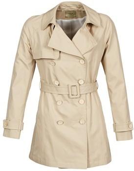 LOLA Cosmetics MARDI women's Trench Coat in Beige