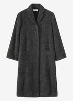 Toast Boucle Tweed Coat