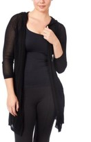 Thumbnail for your product : Joseph A Hooded Open Stitch Duster