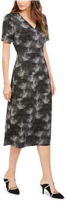 Alfani Printed Midi Dress