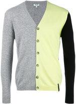 Kenzo colour block cardigan - men - Cotton/Cashmere/Wool - M
