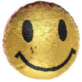 Capelli New York Smiley Sequined Pillow