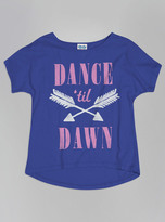 Junk Food Clothing Kids Girls Dance 'til Dawn Tee-reef-xs