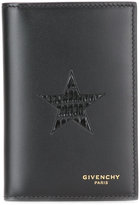 Givenchy star card case - men - Calf Leather - One Size