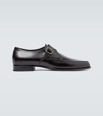Saint Laurent Marceau leather derby shoes