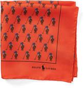 Polo Ralph Lauren Player Silk Pocket Square