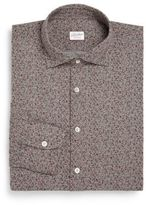 SLOWEAR Regular-Fit Floral Cotton Dress Shirt