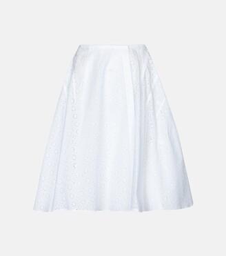Alaia Edition 2008 broderie anglaise miniskirt