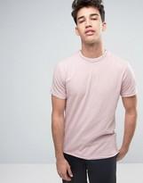 Threadbare Raw Edge T-shirt