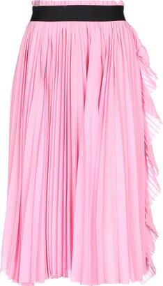 Nude 3/4 length skirts