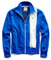 Todd Snyder Panel Track Jacket in Brilliant Blue