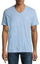 James Perse V-Neck Short-Sleeve T-Shirt, Light Blue