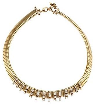 Rosantica Argo Goldtone & Crystal Chain Link Choker Necklace