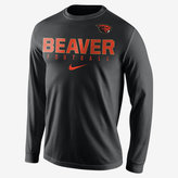 Nike College Practice Football (Oregon State) Men's Long Sleeve Top