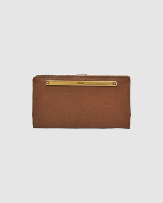 Fossil Liza Brown Bifold Wallet