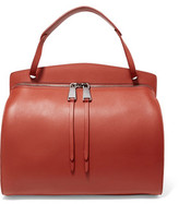 Jil Sander Blunt Medium Leather Shoulder Bag