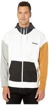 Timberland Full Zip Hoodie Sweat (Black/White) Men's Sweatshirt