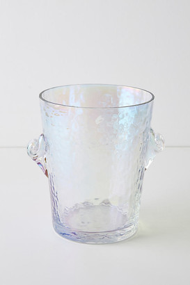 Anthropologie Zaza Lustered Ice Bucket By in White Size M