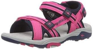 KangaROOS Unisex Kids' K-Leni Low-Top Sneakers, Red (Daisy Pink/Dk Navy 6130)