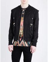 Balmain Pocket-detailed Satin Jacket