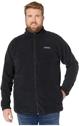 Columbia Big Tall Basin Trailtm Fleece Full Zip (Black) Men's Fleece