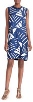 Lauren Ralph Lauren Petite Faraleigh Printed-Front Sweater Dress