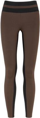 Vaara Flo two-tone panelled leggings