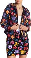 Love Moschino Giubbino Palloncini Hooded Bomber Jacket