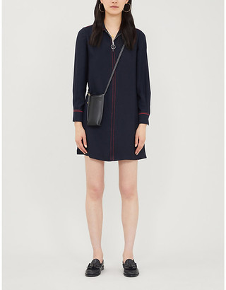 Claudie Pierlot Rencardh crepe mini dress