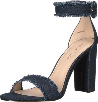 Pelle Moda Women's Bonnie Dress Sandal Indigo 10 B US