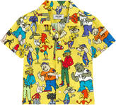 Moschino Printed poplin shirt