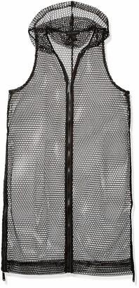 Steve Madden Women's MESH ON The GO Zipper Vest