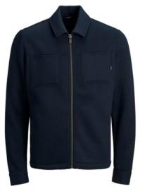 Jack and Jones Men's Full Zip Long Sleeve Sweat Jacket