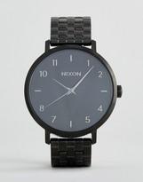 Nixon Full Black Arrow Watch