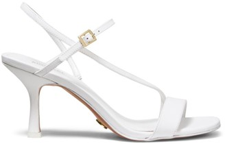Michael Kors Tasha Leather Slingback Sandals