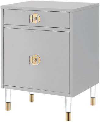 Nicole Miller Kurney Side Table/Accent Table/Nightstand