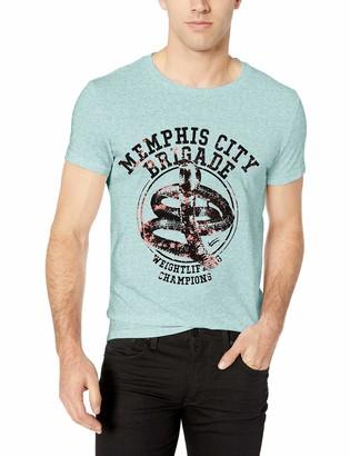 William Rast Men's Short Sleeve Graphic Tee-Shirt
