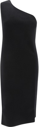 Bottega Veneta One Shoulder Knit Dress