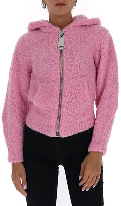Moschino Knit Hooded Jacket