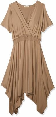 Forever 21 Women's Plus Size Surplice Midi Dress