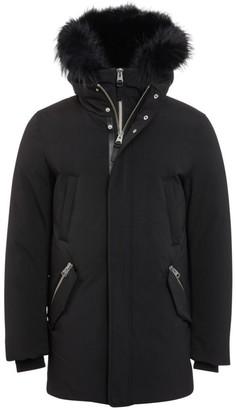 Mackage Edward Nordic Tech Fox Fur-Trim & Rabbit Fur-Lined Down Coat
