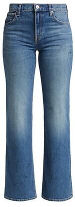 Hudson Rosie High-Rise Wide-Leg Jeans