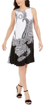Kasper Pappagallo The Gwen Paisley Shift Dress