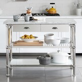 Williams-Sonoma Williams Sonoma Modular Kitchen Island Polished Nickel