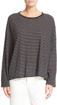 Vince Women's Relaxed Stripe Top