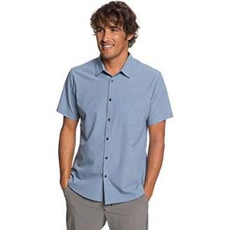 Quiksilver Waterman Men's Tech Tides Button Down Shirt