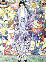 Gustav 1art1 Posters Klimt Poster Art Print - Picture Friederike Maria Beer 1916 (32 x 24 inches)
